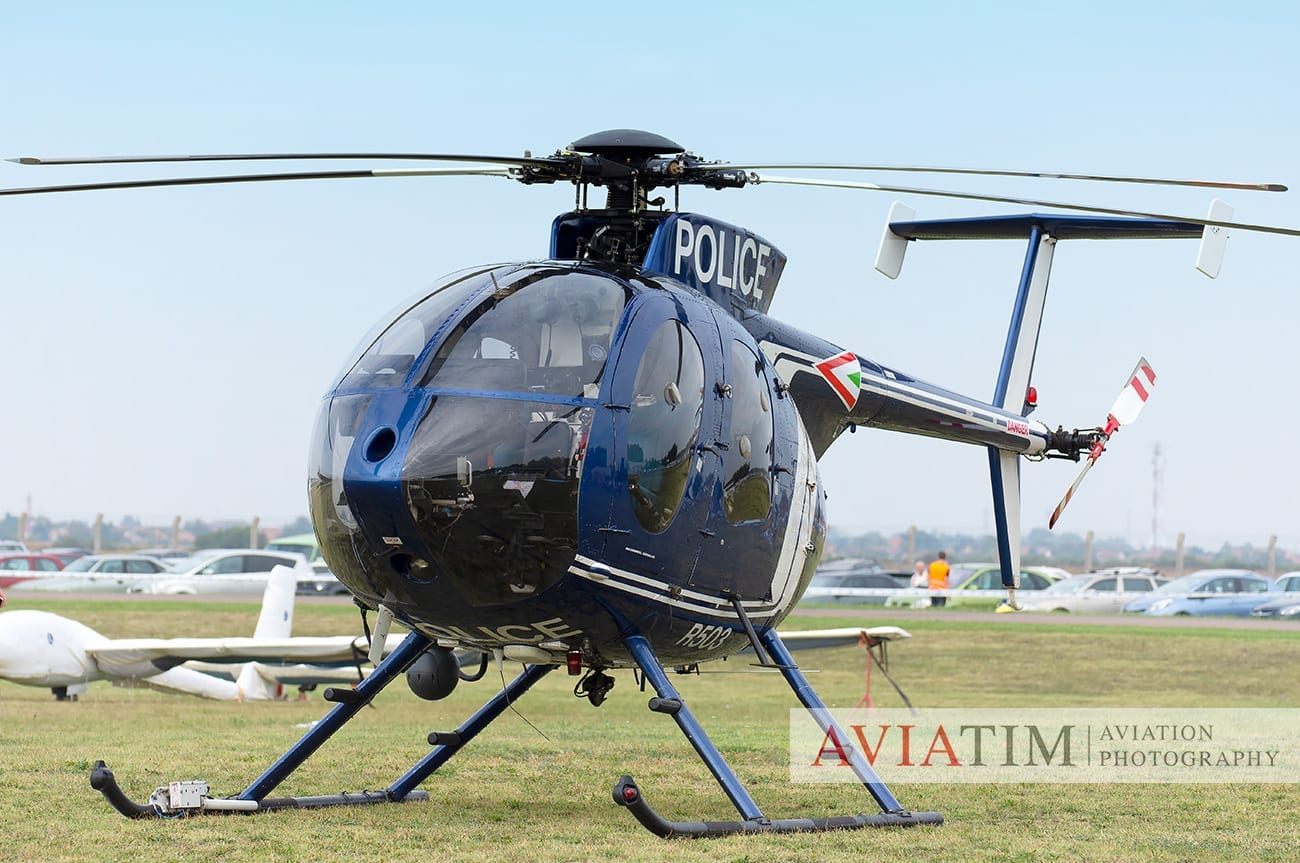1. Szeged Air Show MD-500E Helicopter Airshows