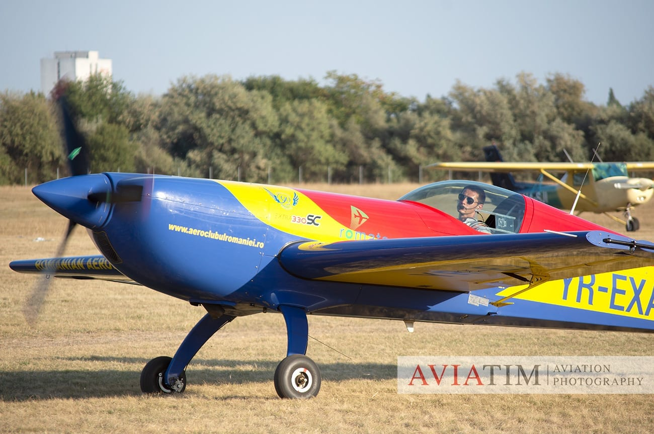 36. Szeged Air Show. Extra330. Hawks of Romania. Airshows